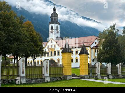 At Stams Abbey, Stift Stams, Stams, Tyrol, Austria. - Stock Photo