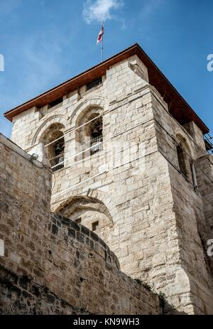 Church of the Holy Sepulchre in Jerusalem, Israel. - Stock Photo