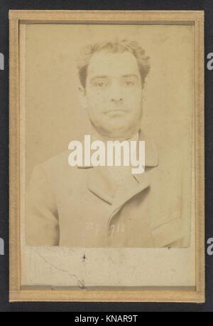 Dauriac. Henri, Georges. 36 ans, né à Memphis (USA). Agent d'affaires. Extortion de fonds. 22-12-94. MET DP290380 - Stock Photo