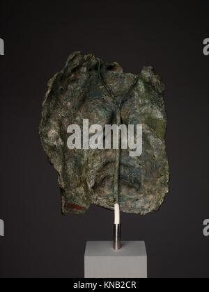 Fragmentary bronze portrait of the emperor Caracalla MET DP338138 255957 - Stock Photo