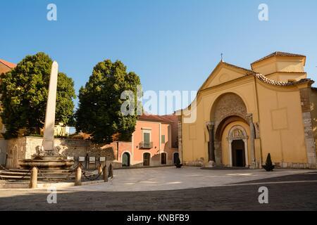 Church of Santa Sofia in Benevento (Italy). - Stock Photo