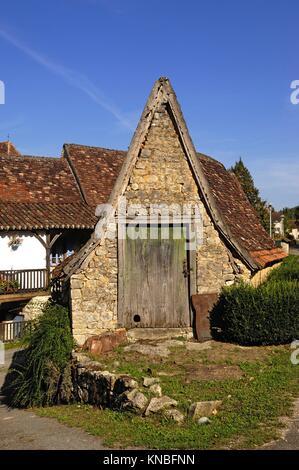 Saint Martin de Vers, Lot, France,. - Stock Photo