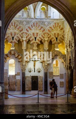 trasaltar, Mosque-Cathedral of Córdoba, Andalucia, Spain. - Stock Photo