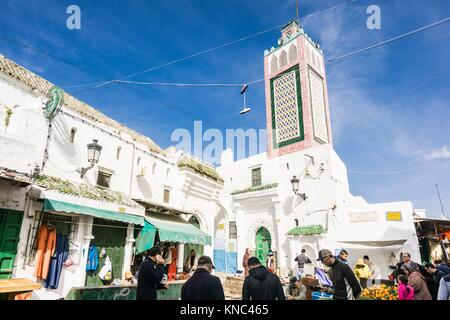Medina quarter, Tetouan, world heritage, Morocco, Northern Africa - Stock Photo