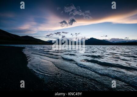 Lago Roca, El Calafate ,Parque Nacional Los Glaciares Patagonia, Argentina. - Stock Photo