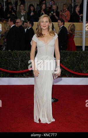 LOS ANGELES, CA - MARCH 20: Jennifer Westfeldt arrives at AMC's 'Mad Men' Season 6 Premiere at the DGA Theater on - Stock Photo