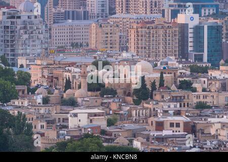 Baku City, Old City, Azerbaijan, Middle East. - Stock Photo