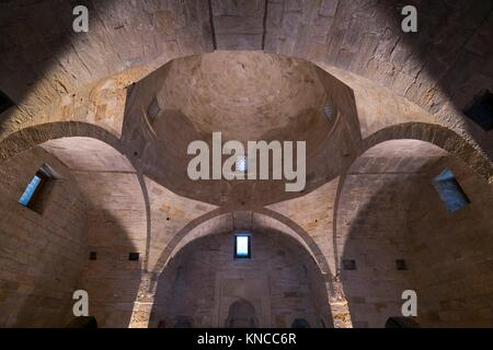 Palace of the Shirvanshahs, World Heritage Site, Unesco, Old City, Baku City, Azerbaijan, Middle East. - Stock Photo