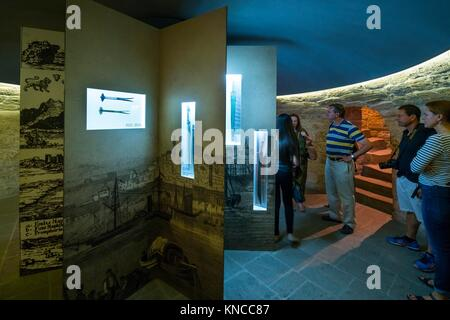 Maiden Tower, Word Heritage Site, Unesco, Old City, Baku City, Azerbaijan, Middle East. - Stock Photo