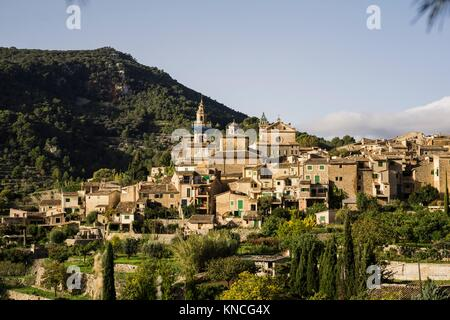 Cartuja , Valldemossa, Sierra de Tramuntana, Mallorca, Balearic Islands, spain, europe. - Stock Photo