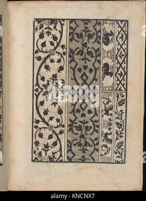 Ein new Modelbuch..., page 6 (verso) MET DP363387 665915 - Stock Photo