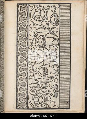 Ein new Modelbuch..., page 7 (verso) MET DP363391 665920 - Stock Photo