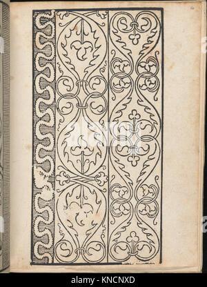 Ein new Modelbuch..., page 8 (verso) MET DP363395 665930 - Stock Photo