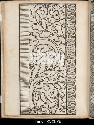 Ein new Modelbuch..., page 7 (verso) MET DP363392 665919 - Stock Photo