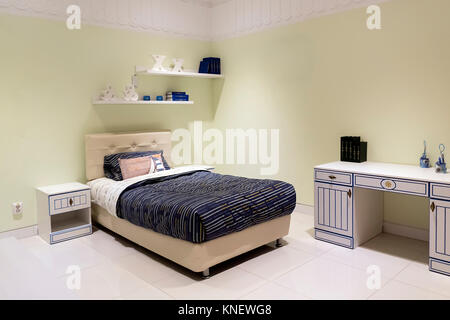 Shot of a spacious cosy children's room - Stock Photo