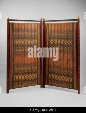 Screen. Designer: Designed by Lockwood de Forest (American, New York 1850-1932 Santa Barbara, California); Date: - Stock Photo