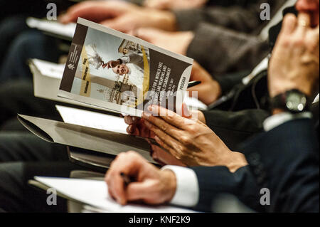 International Symposium: Prospects for a World Free from Nuclear Weapons and for Integral Disarmament, at the New - Stock Photo