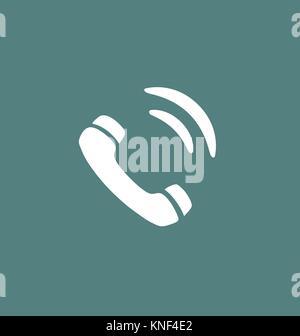 Phone icon vector. - Stock Photo