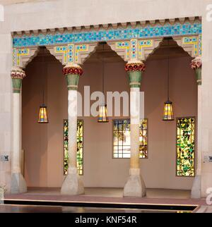 Architectural Elements from Laurelton Hall, Oyster Bay, New York. Designer: Designed by Louis Comfort Tiffany (American, - Stock Photo