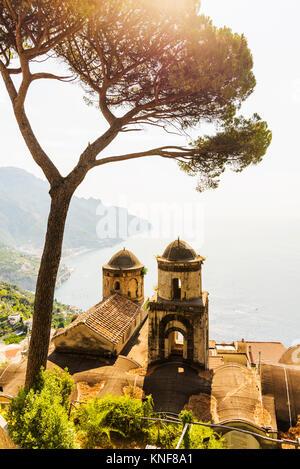 Villa Rufolo, Ravello, Amalfi Coast, Italy - Stock Photo