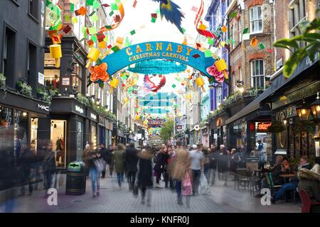 Carnaby Street, London - Stock Photo
