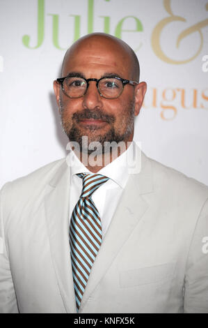 Stanley Tucci at the Julie & Julia film premiere at the Ziegfeld Theatre in New York City. July 30, 2009 Credit: - Stock Photo