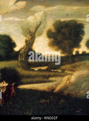 The Forest of Arden. Artist: Albert Pinkham Ryder (American, New Bedford, Massachusetts 1847-1917 Elmhurst, New - Stock Photo