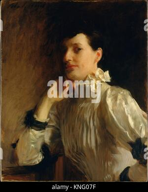 Mrs. Henry Galbraith Ward. Artist: John Singer Sargent (American, Florence 1856-1925 London); Date: ca. 1891-94; - Stock Photo