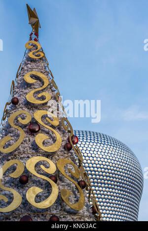 Christmas at the Bullring, Birmingham. Midlands, England, Europe - Stock Photo