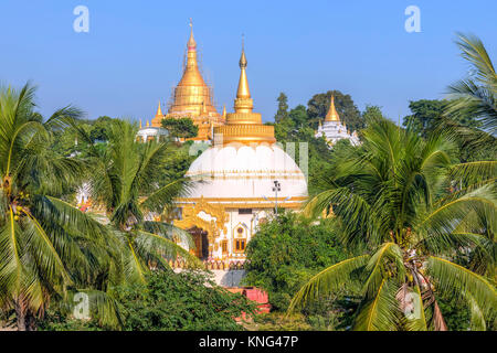 Sagaing Hill, Mandalay, Myanmar, Asia - Stock Photo