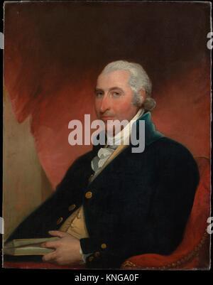John Shaw. Artist: Gilbert Stuart (American, North Kingston, Rhode Island 1755-1828 Boston, Massachusetts); Date: - Stock Photo