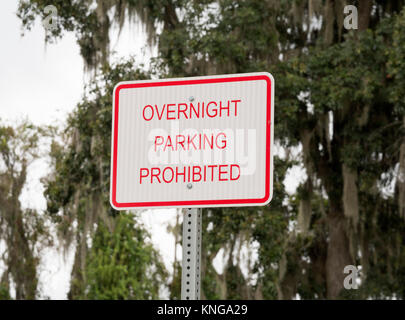 Signs at an I-75 rest stop. - Stock Photo