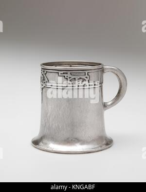 Cup. Artist: Robert R. Jarvie (American, 1865-1941); Date: ca. 1911; Geography: Made in Chicago, Illinois, United States; Culture: American; Medium: