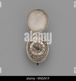 Watch. Maker: Watchmaker: Richard Masterson (British, active 1630, Clockmaker's Company 1633, died 1653); Date: - Stock Photo