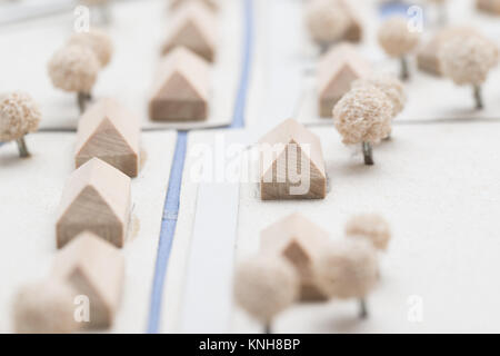 Urban Planning Model - Stock Photo