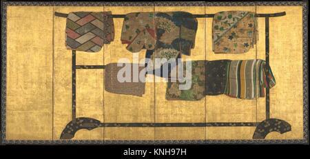 Period: Momoyama (1573-1615) or Edo (1615-1868) period; Date: first half of the 17th century; Culture: Japan; Medium: - Stock Photo