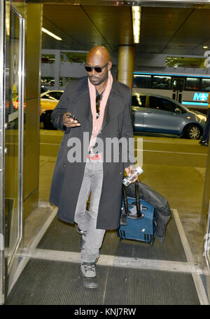 MIAMI, FL - DECEMBER 05: (EXCLUSIVE COVERAGE) Jimmy Jean-Louis at Miami International Airport. Jimmy Jean-Louis - Stock Photo