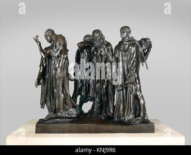 The Burghers of Calais. Artist: Auguste Rodin (French, Paris 1840-1917 Meudon); Founder: Coubertin Foundry; Date: - Stock Photo