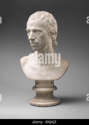 Laurence Sterne (1713-1768). Artist: Joseph Nollekens (British, London 1737-1823 London); Date: first modeled 1765 - Stock Photo