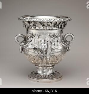 Wine cooler (one of a pair). Maker: Ignaz Joseph Würth (Austrian, first mentioned 1769, died 1792); Date: 1781; - Stock Photo
