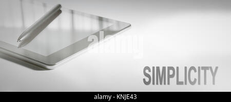 SIMPLICITY Business Concept Digital Technology. Graphic Concept. - Stock Photo