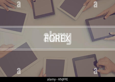 FOREX CONCEPT Business Concept. - Stock Photo