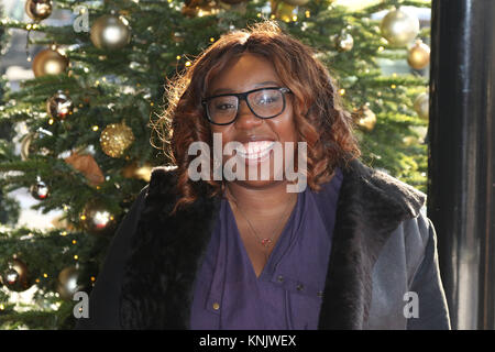 London, UK. 12th Dec, 2017. Chizzy Akudolu, TRIC - The Television And Radio Industries Club - Christmas Lunch, Grosvenor - Stock Photo