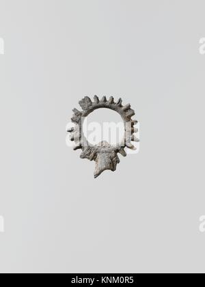 Wreaths, 11. Culture: Greek, Laconian; Medium: Lead; Dimensions: 15/16 x 3/4 in. (2.3 x 2 cm); Classification: Miscellaneous - Stock Photo