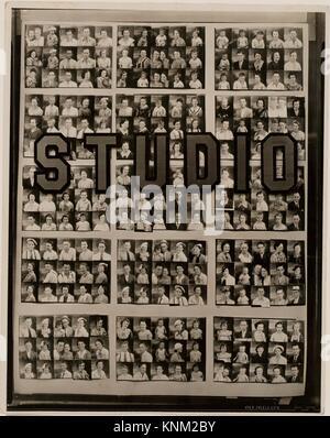 Penny Picture Display, Savannah. Artist: Walker Evans (American, St. Louis, Missouri 1903-1975 New Haven, Connecticut); - Stock Photo