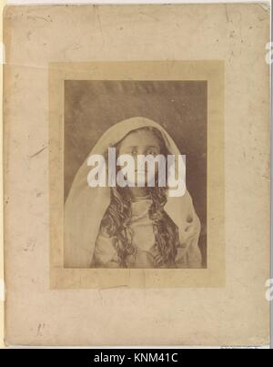 Ceylonese Woman. Artist: Julia Margaret Cameron (British (born India), Calcutta 1815-1879 Kalutara, Ceylon); Date: - Stock Photo