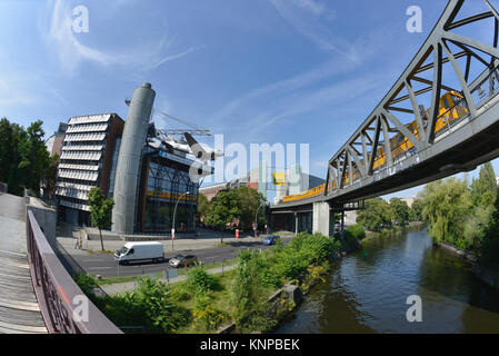 Technology museum, Trebbiner street, cross mountain, Berlin, Germany, Technikmuseum, Trebbiner Strasse, Kreuzberg, - Stock Photo