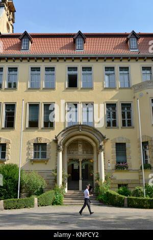 Friedrich's Bergius school, place Perels, Friedenau, temple court nice mountain, Berlin, Germany, Friedrich-Bergius - Stock Photo