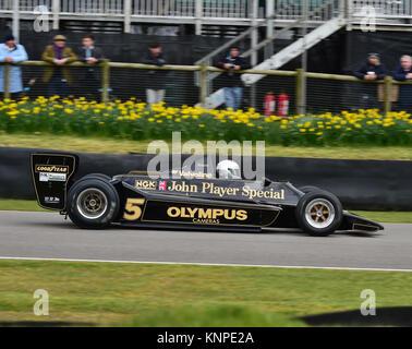 Chris Locke, Lotus Cosworth 79, Goodwood, 74th Members Meeeting, F1, Ground effect Grand Prix cars, cars, circuit racing, demo, England, Formula 1, Fo