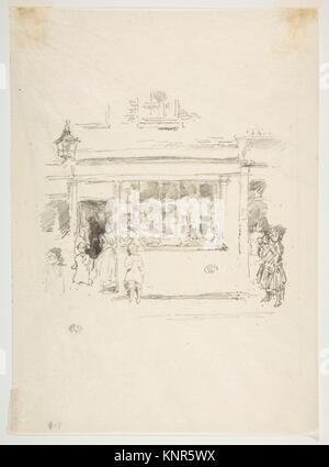 Drury Lane Rags. Artist: James McNeill Whistler (American, Lowell, Massachusetts 1834-1903 London); Date: 1888; - Stock Photo
